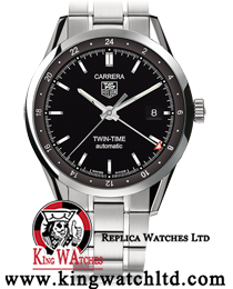 Tag Heuer Carrera Calibre 7 Twin Time 1