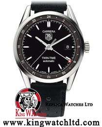 Tag Heuer Carrera Calibre 7 Twin Time 2