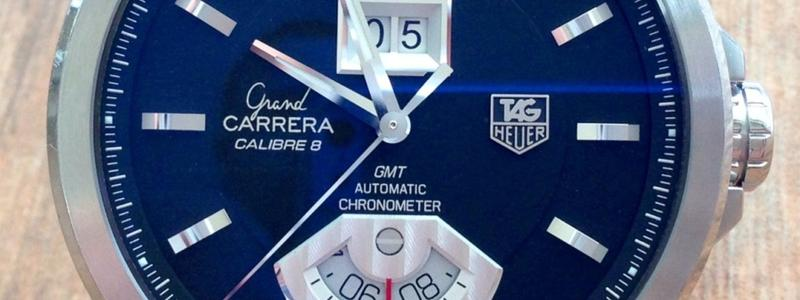 Tag Heuer Grand Carrera Calibre 8 Rs Gmt banner