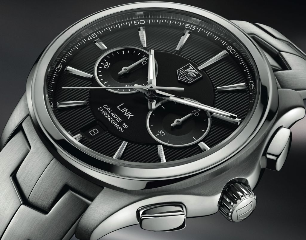 Tag Heuer Link Calibre 18 banner