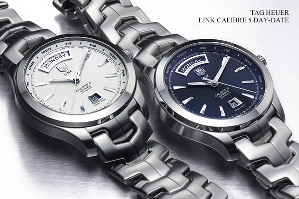 Tag Heuer Link Calibre 5 Day-date 3