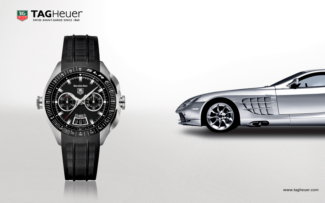 Best tag heuer slr mercedes benz replica watches online for Mercedes benz tag heuer watch